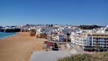 The old town of Albufeira
